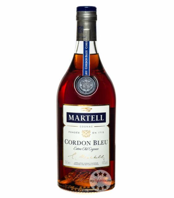 Martell Cordon Bleu Cognac / 40 % Vol. / 0,7 Liter-Flasche in Geschenkverpackung