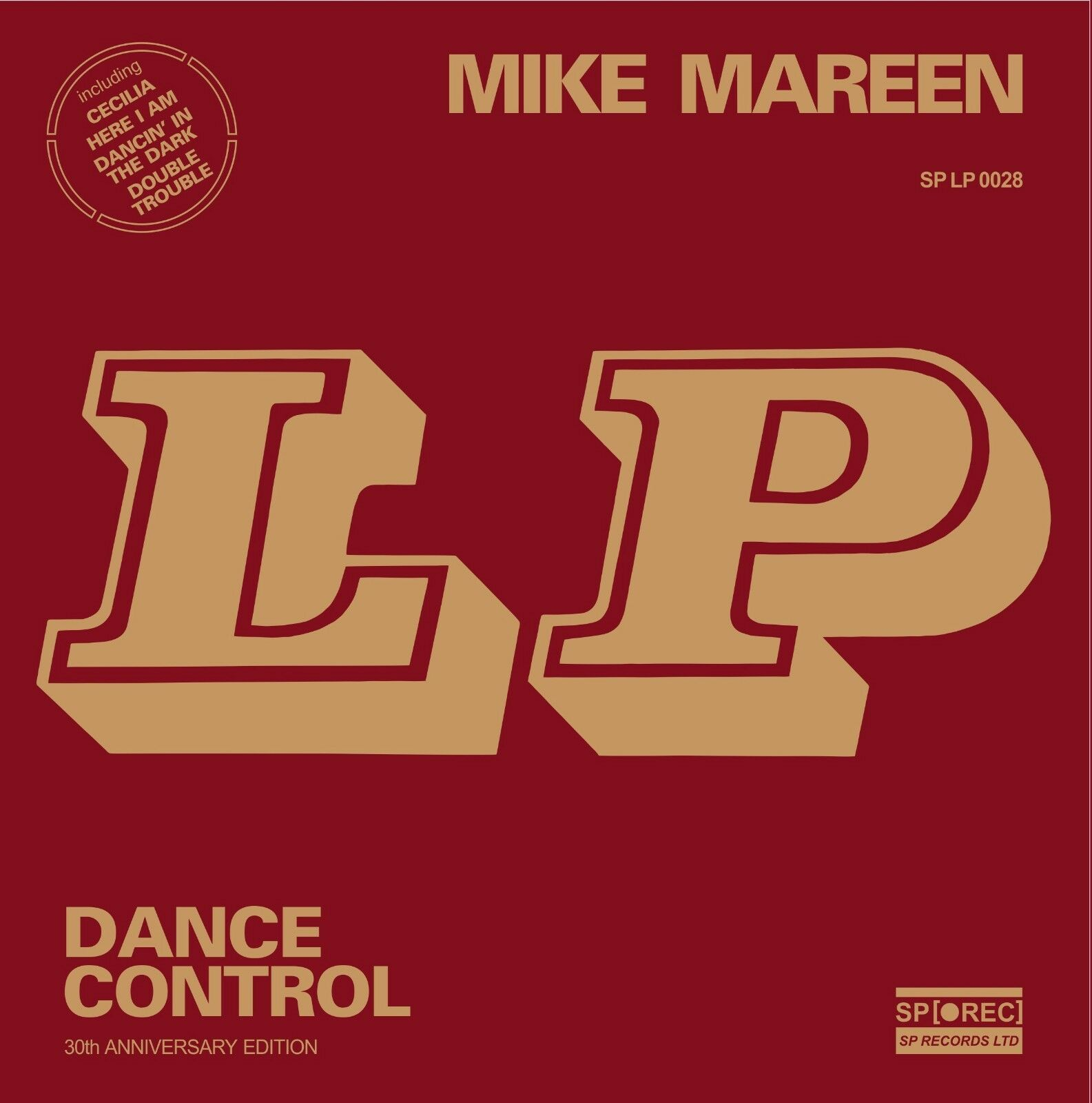 mike mareen lp dance control 2015 vinyl reis only 300 copy italo