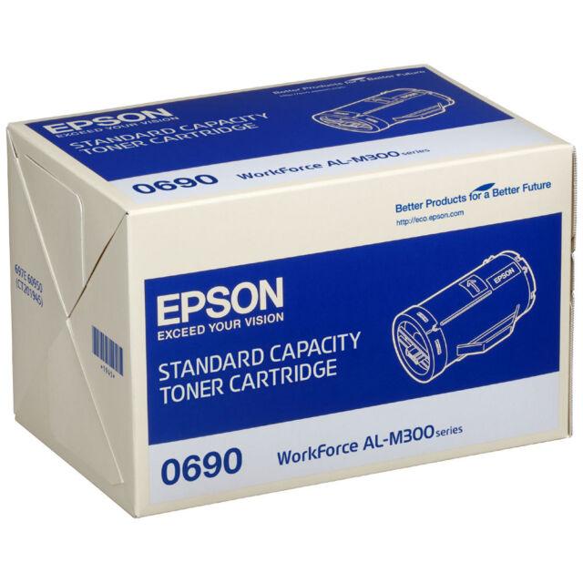 GENUINE EPSON C13S050690 / S050690 BLACK LASER PRINTER TONER CARTRIDGE