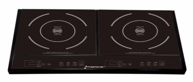 Used   GForce Electric Double Induction Stove Burner Cooktop  RTL$299.99    854