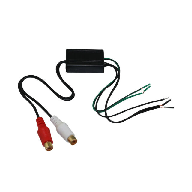 Audiopipe Car Audio Speaker Wire to RCA Line Output Converter AD ...