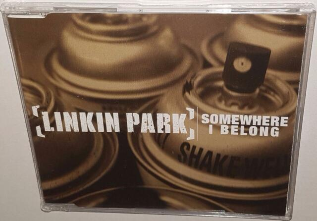 LINKIN PARK SOMEWHERE I BELONG (CD SINGLE) (2003) NEW SEALED RARE AUSTRALIAN CD
