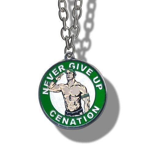 Wwe john cena never give up pendant necklace wrestling silver chain wwe john cena never give up pendant necklace wrestling silver chain ebay mozeypictures Gallery