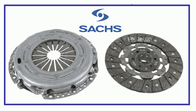 New *Genuine* OEM SACHS Alfa Romeo 156 JTDM ,Fiat Corma 1.9D  2 Piece Clutch Kit
