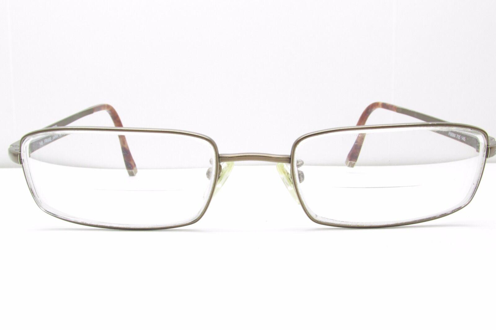 Fendi F689m 705 Rectangular Eyeglasses Eyewear Frames 53-19-145 Tv6 ...