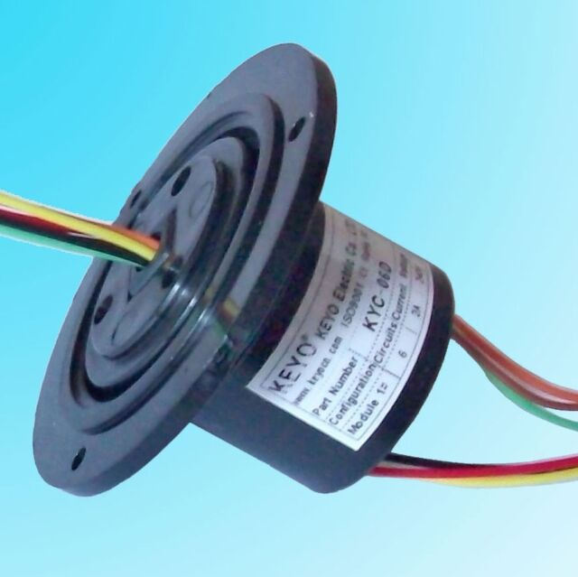 Kyc06d Capsule Slip Ring 6x2a (6 Wires 2 Amps)   eBay