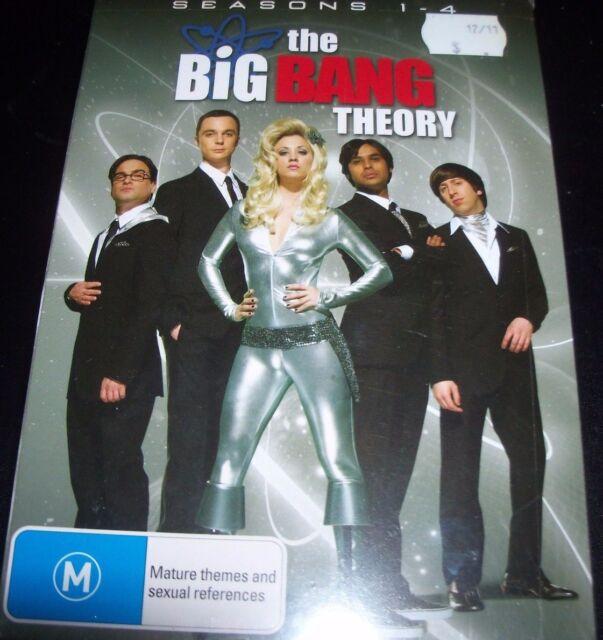The Big Bang Theory Seasons 1 2 3 4 Box Set (Australia Region 4) DVD – New
