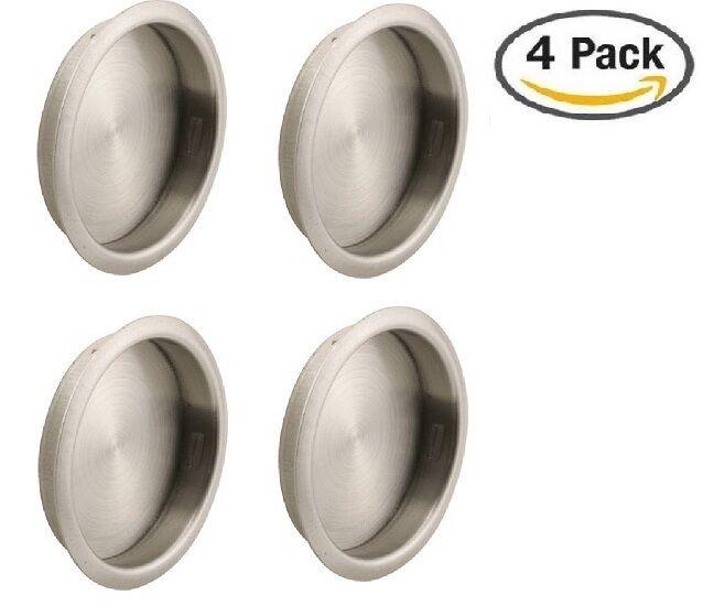 Nuk3y Easy Snap In Closet Door Finger Pull 2 18 4 Pack Satin