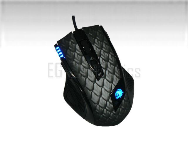 Sharkoon Drakonia Black Gaming Laser Maus 8200 dpi Schwarz (B00DNRN1DK_3)