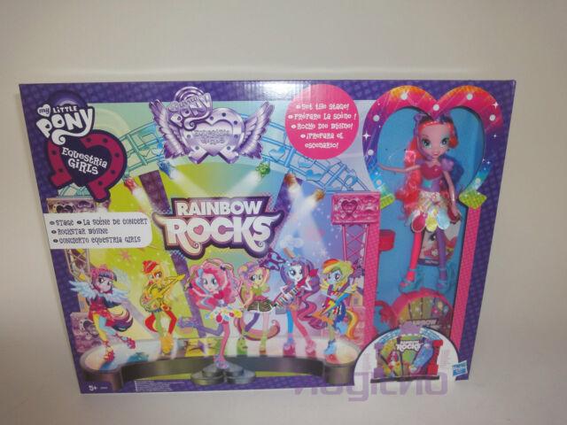 Hasbro My Little Pony Equestria Girls Pinkie Pie Rainbow Rocks Horse A8060