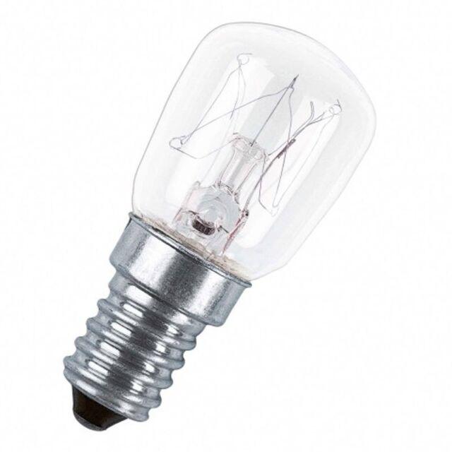Backofenlampe 25W E14 klar  300°C