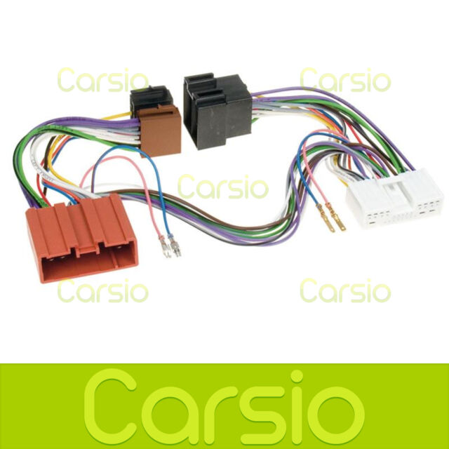 Sot-077 MAZDA Mx5 2001 - 2009 ISO Parrot Harness Adaptor Wiring Loom ...