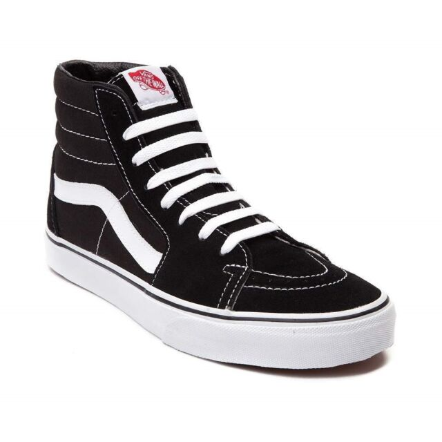 vans high tops black mens
