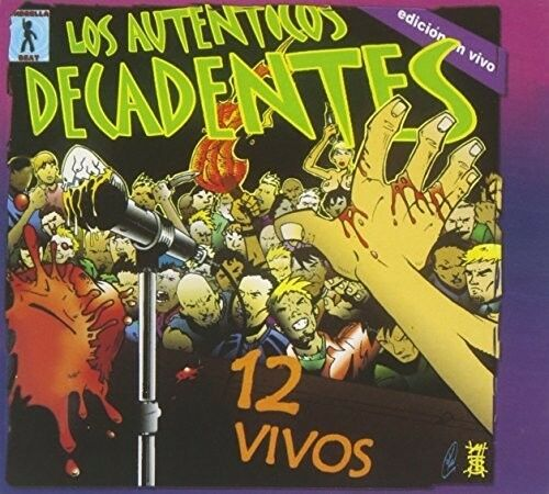Autenticos Decadentes, Los Auténticos Decadentes - 12 Vivos [New CD] Argentina -
