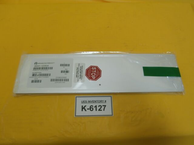 AMAT Applied Materials 0041-12354 300mm Slit Valve Door New Surplus & AMAT Applied Materials 0041-12354 300mm Slit Valve Door Surplus   eBay