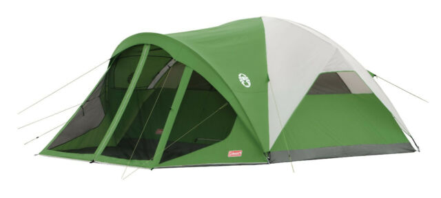 Coleman Screened 6-Person Evanston Tent WeatherTec System 14u0027 x 10u0027 Family Dome  sc 1 st  eBay & Coleman Evanston Screened 6 Person Tent 14u0027 X 10u0027 2000007825 | eBay