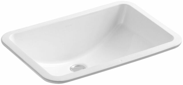 Etonnant KOHLER K 2214 0 Ladena Undercounter Bathroom Sink, White