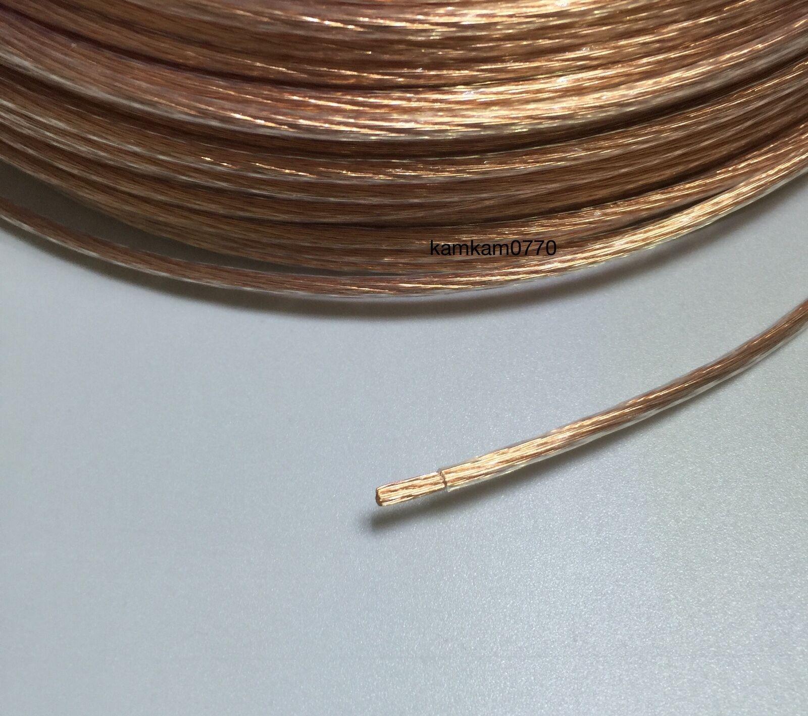 10m Vanguard Acoustics 0.75mm Square 6n OCC Copper Wire DIY Hi Fi ...