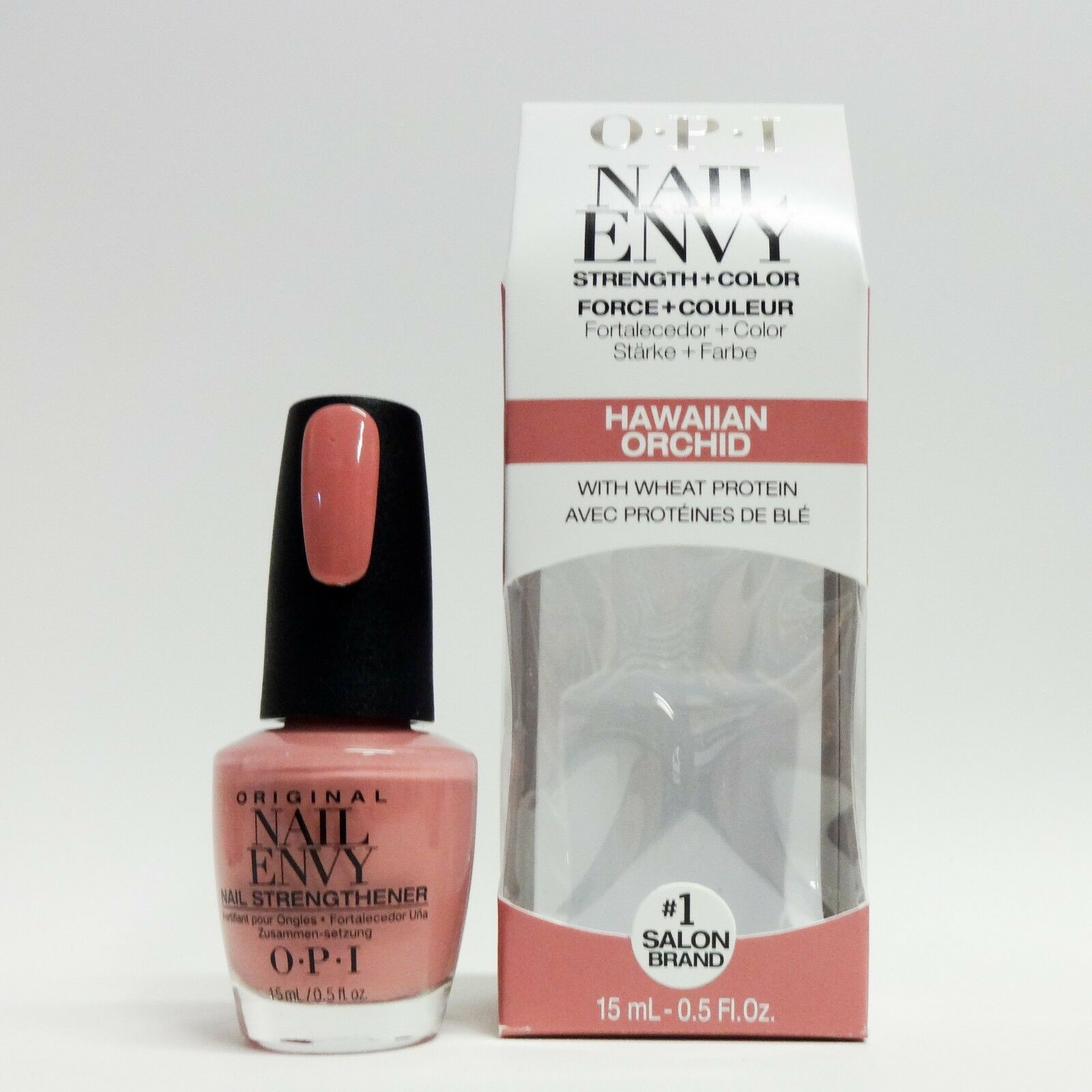 OPI Nail Envy Hawaiian Orchid Strength Color Strengthener 0.5 Oz 15 ...