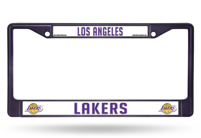 NBA Los Angeles Lakers Chrome License Plate Frame | eBay