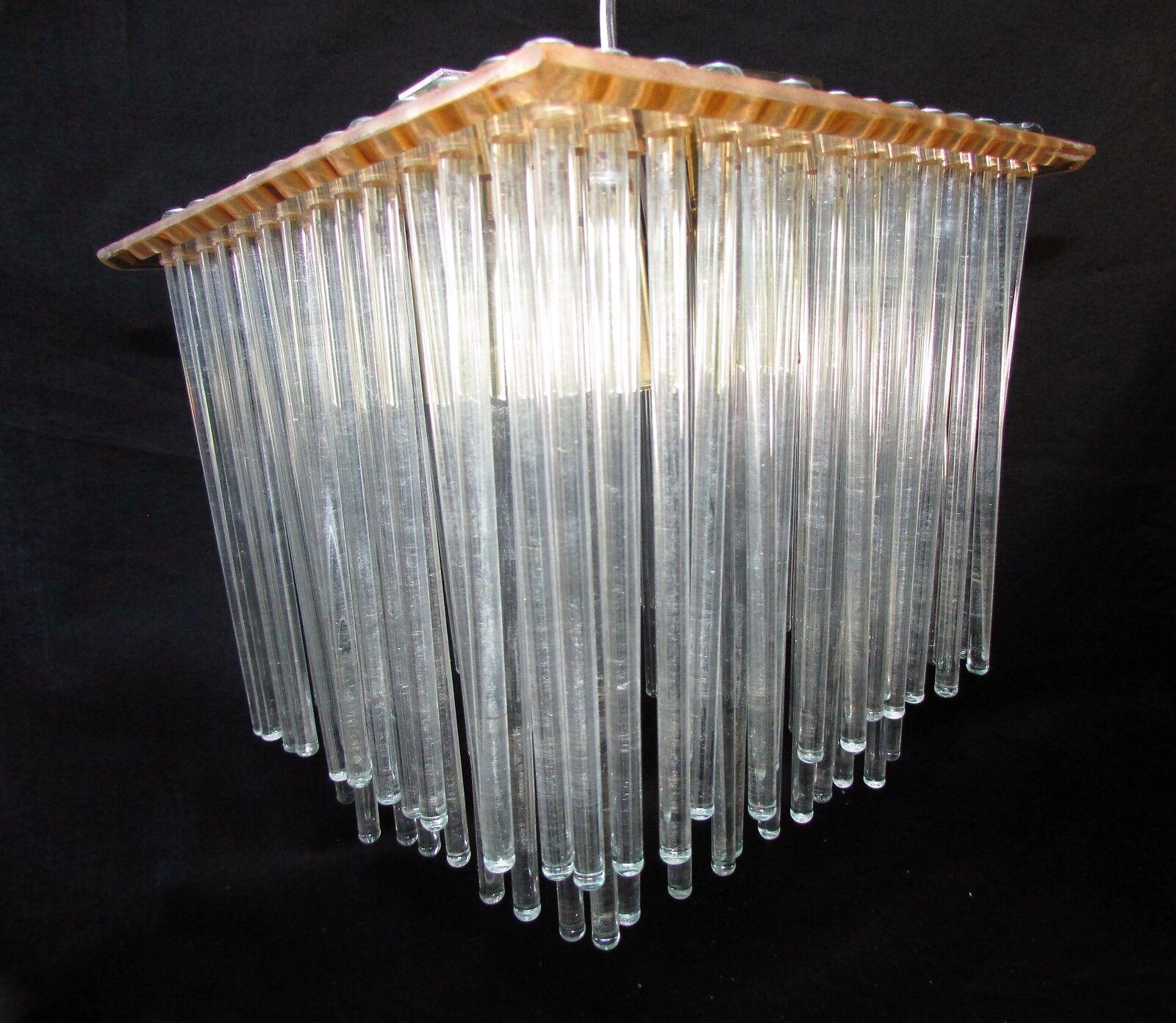 Mid century modern chandelier triarch international 1414br brass picture 1 of 5 arubaitofo Gallery
