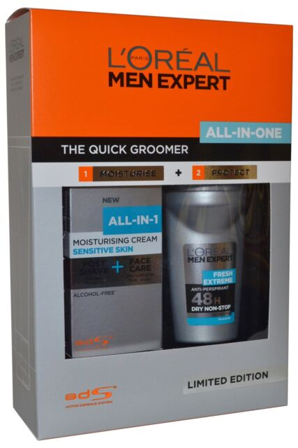 Men Expert by L'Oreal The Quick Groomer All in One Set Cream 75ml Deo 50ml