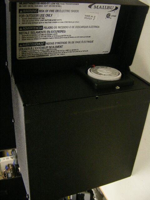Malibu 600 Watt Transformer Power Pack Low Voltage
