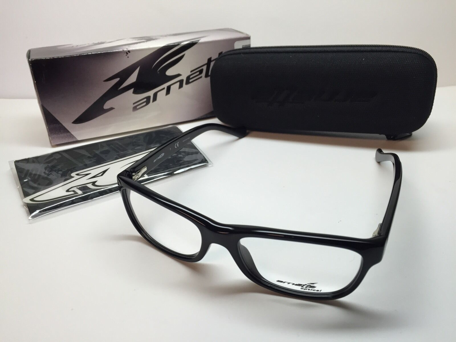 15 Wholesale Arnette Drum Machine Black Frames 7091-0153 Eyeglasses ...