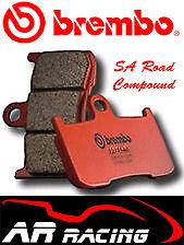 Brembo SA Sintered Road Front Brake Pads for Harley Davidson 1802 Breakout 13-On