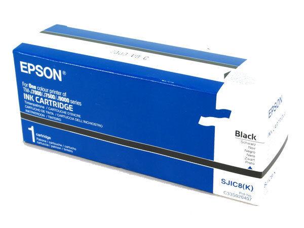 Epson Tintenpatrone schwarz für TM-J 7000/7500 C33S020407