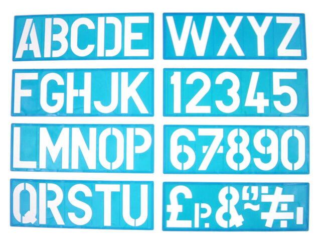 lettering stencil templates