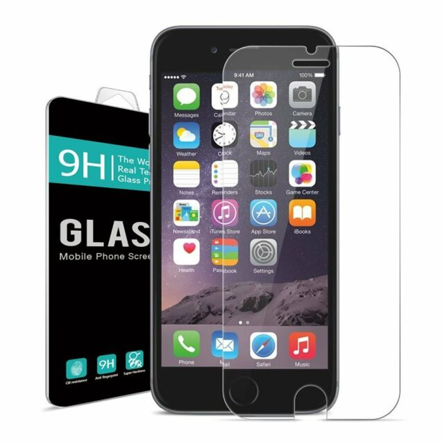 High Quality Premium Real Tempered Glass Screen Protector Film For IPhone 6 6S