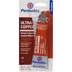 Permatex Ultra Copper Sensor Safe Rtv 80ML