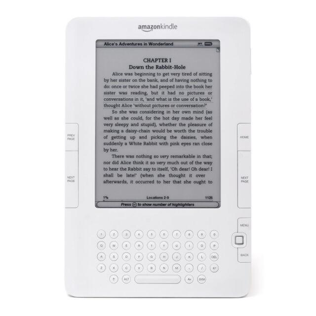 Amazon Kindle 2 - 2GB - 6in - White