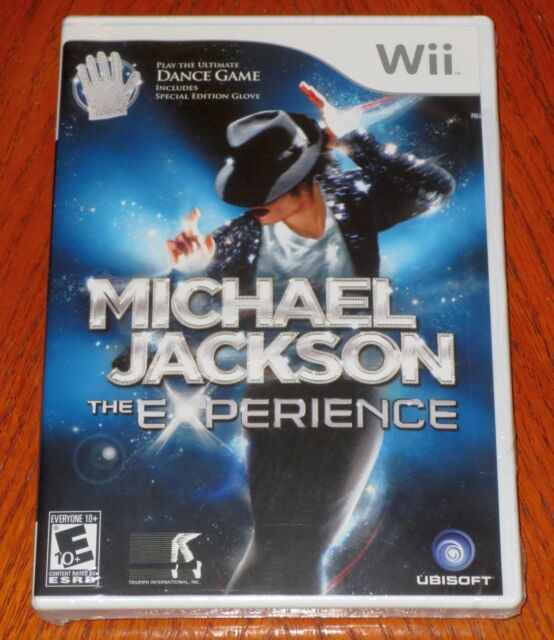 Michael Jackson The Experience with Special Edition Glove Wii  NEW