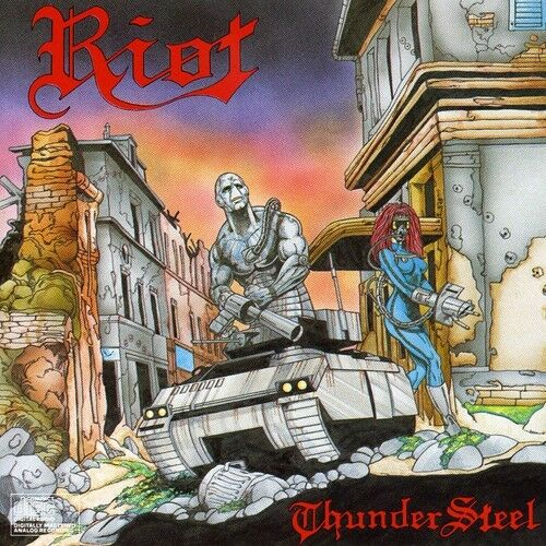 Riot, The Riot - Thundersteel [New CD]