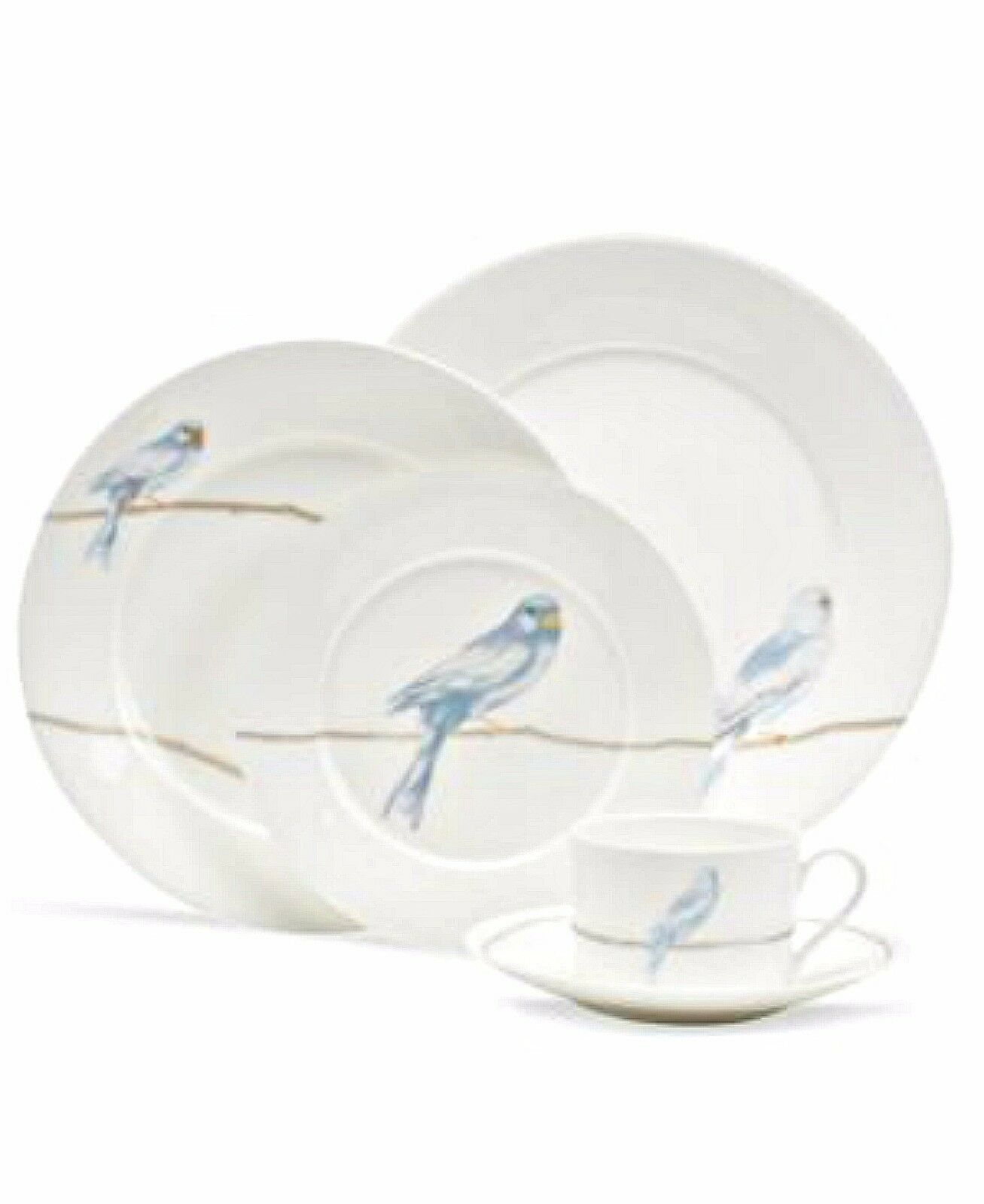 Martha Stewart Collection Dinnerware Sky Song 5 Piece Place Setting ...