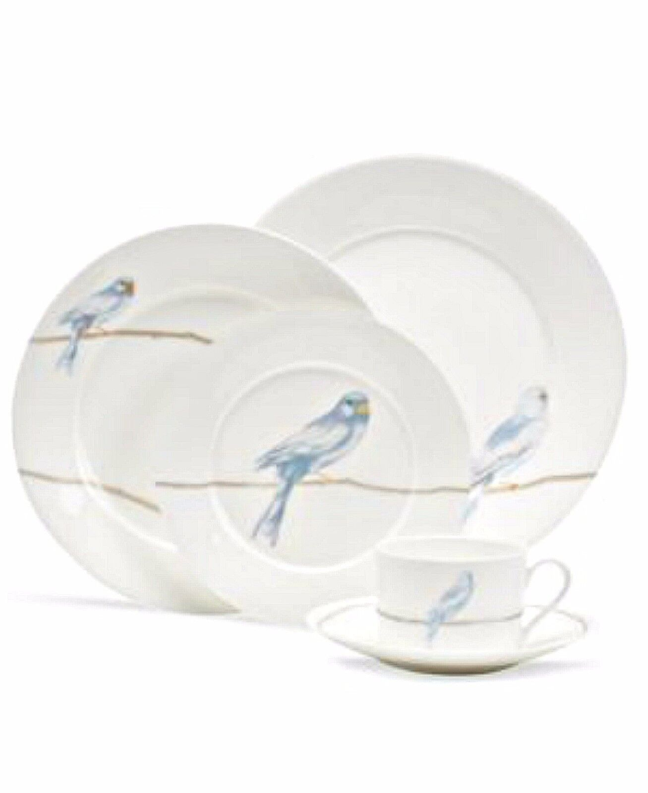 Picture 1 of 1  sc 1 st  eBay & Martha Stewart Collection Dinnerware Sky Song 5 Piece Place Setting ...