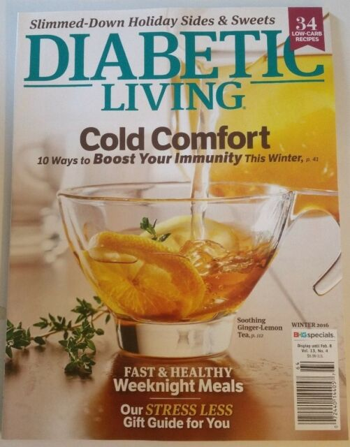 Diabetic living magazine winter 2016 issue health cooking food diabetic living winter 2016 brand new magazine forumfinder Choice Image