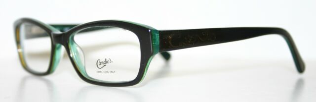Candies Eyeglasses C Shawna Green Tortoise 47mm | eBay