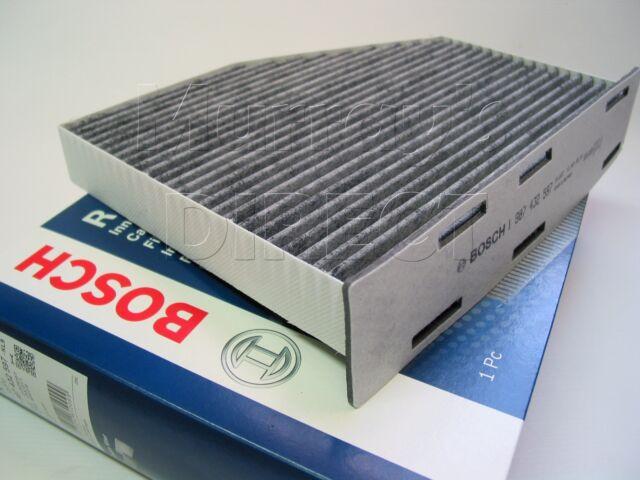OEM BOSCH Carbon Pollen Cabin Filter VW Mk5 Mk6 Golf TSI TDI GTI R32 1K2819653B