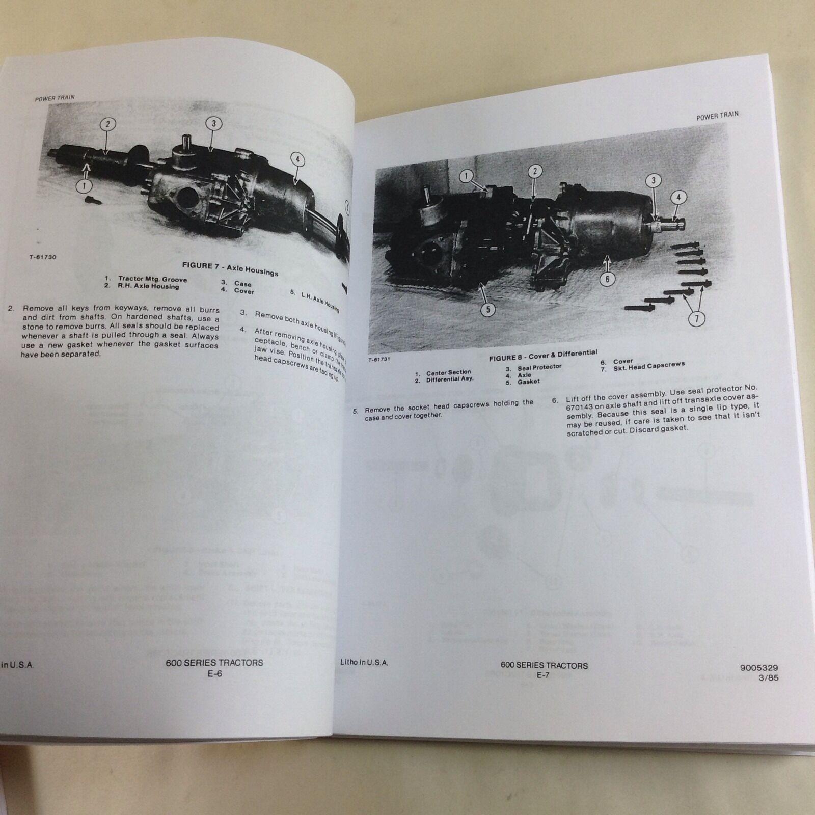 611 Allis Chalmers Wiring Schematic Diagrams Lawn Mower Diagram 611h H Series Tractor Garden Service Simplicity
