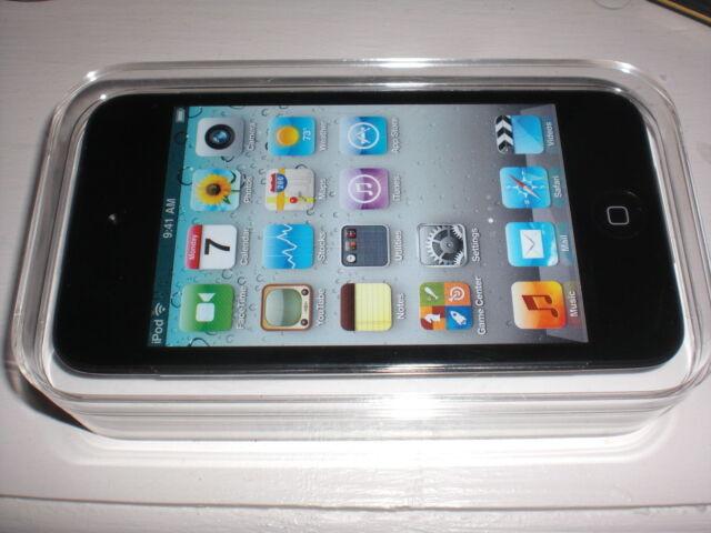 Apple iPod Touch 4th Generation 8GB Black MP3 Player Warranty - Retail Box