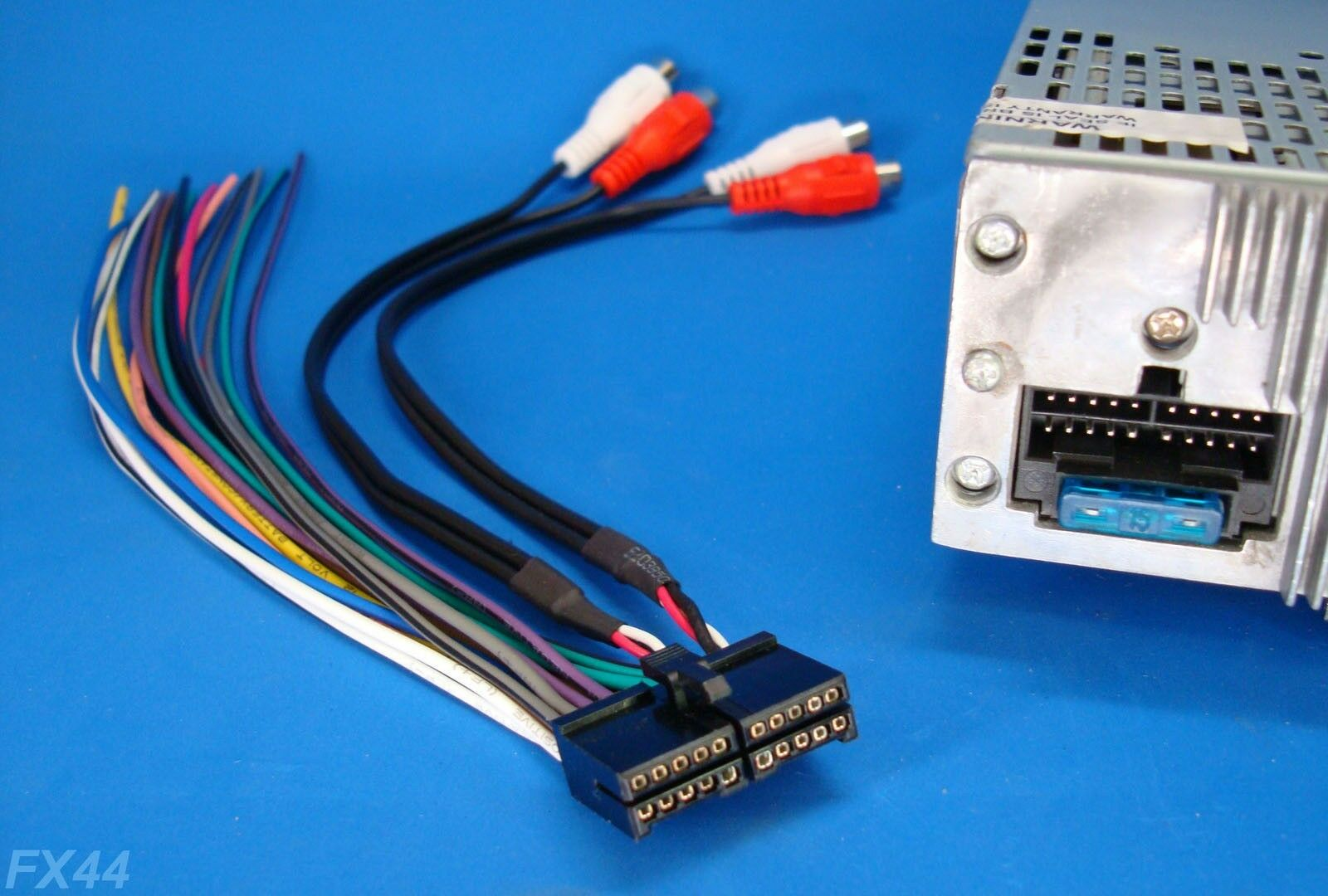 s l1600 xo vision 20 pin radio wire harness stereo power plug back clip Dual Car Stereo Wire Harness at gsmx.co
