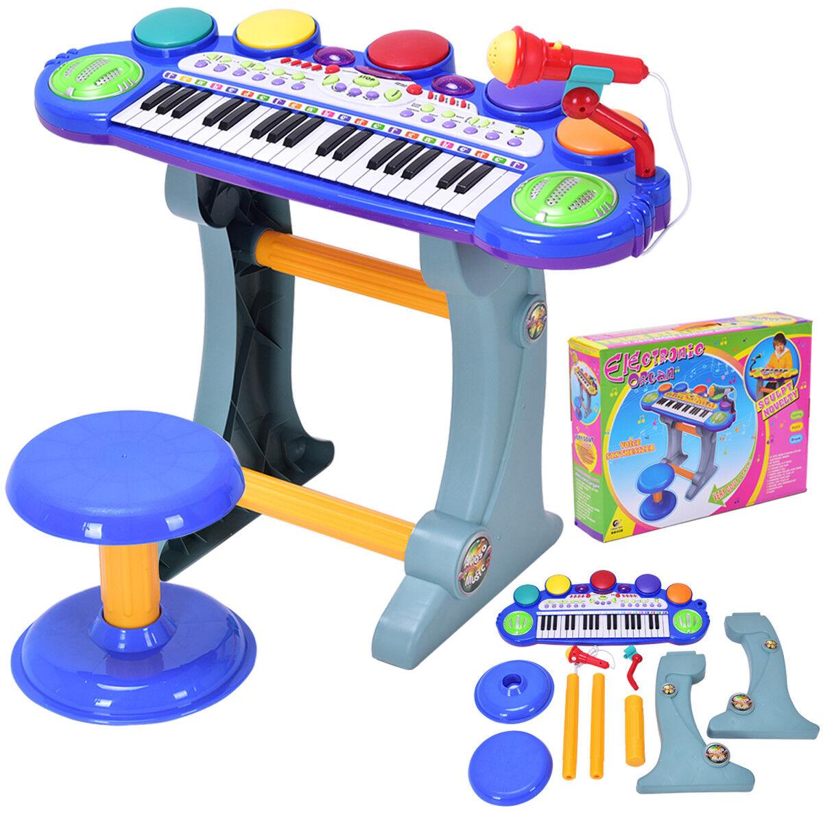 37 Key Kids Musical Electronic Keyboard Organ Piano Microphone Synthesizer Stool  sc 1 st  eBay & Kids Piano | eBay islam-shia.org