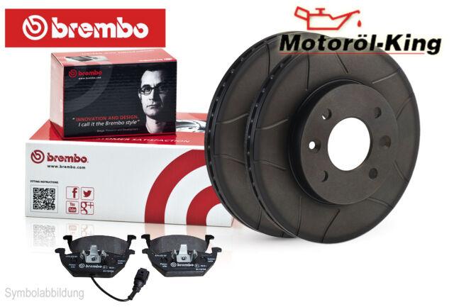 BREMBO Bremsenset geschlitzt AUDI A3 | SEAT ALTEA + LEON  Vorne 288MM