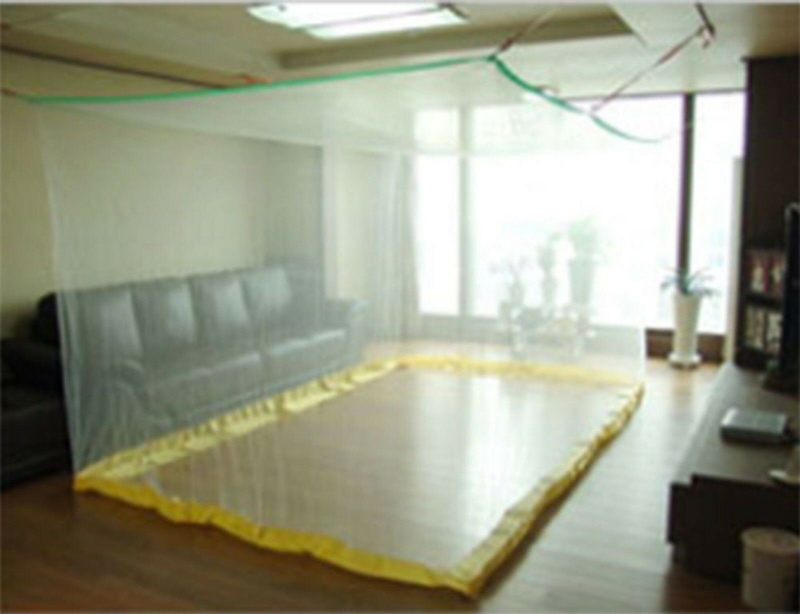 Picture 1 of 5 ... & Portable Insect Mosquito Fly Bug Net Netting Screen Bed Canopy ...