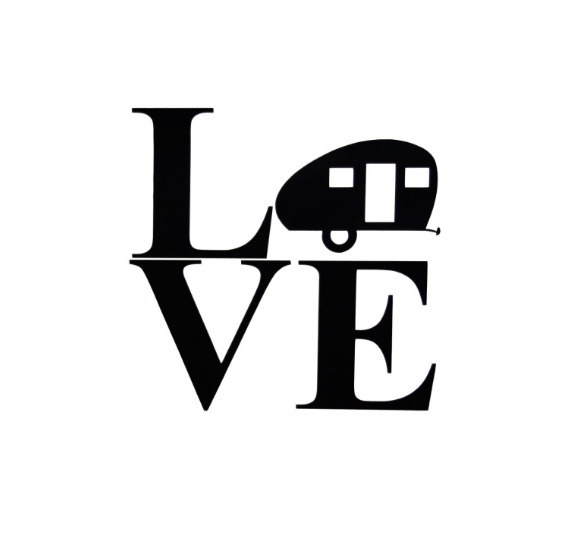 Love caravaning car camper caravan wall decal sticker ebay