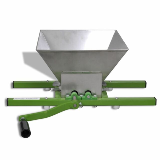 Fruit Crusher Apple Pear Scratter Cider Wine Juice Making Press Shredder 7 L
