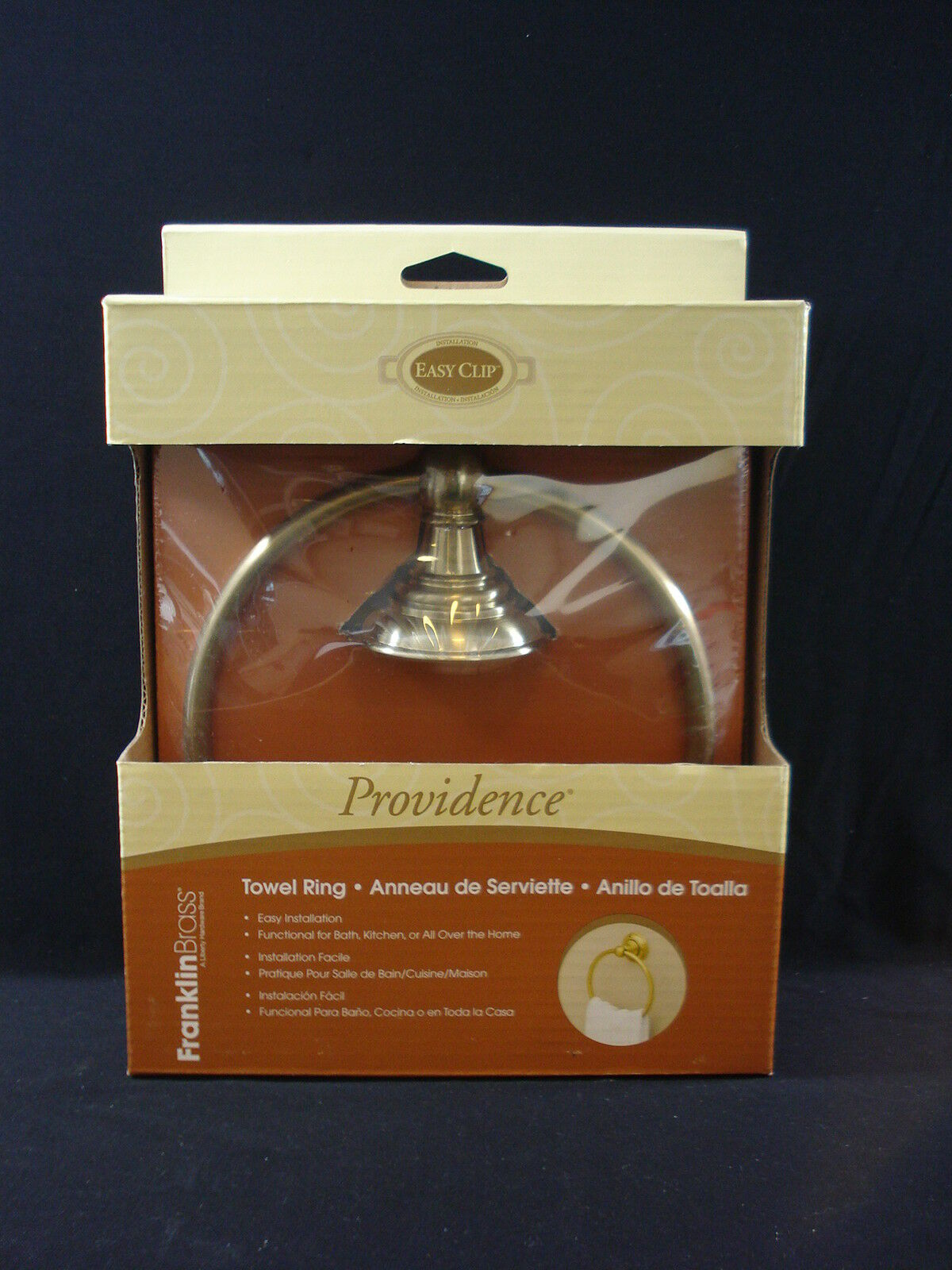 128050 Providence Bath Towel Ring Soft Brass Finish | eBay